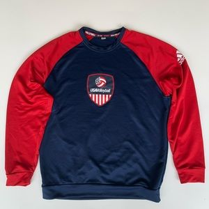 Adidas USA Volleyball Henley sweatshirt - Unisex